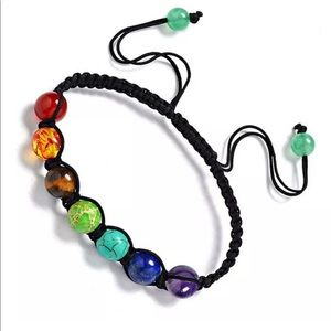 Jewelry - Men women 7 chakra Gemstone beads bracelet